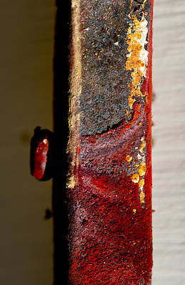 Photograph - Rust Abstract Vi by Stephen Anderson