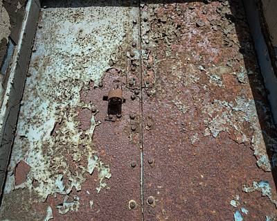 Rust And Corrosion Art Print by Robert Brook