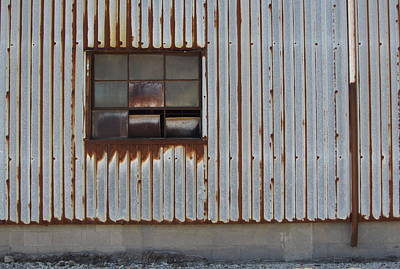 Photograph - Rust And Window 1 by Anita Burgermeister