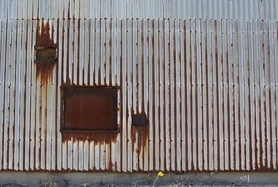 Photograph - Rust And Window 2 by Anita Burgermeister