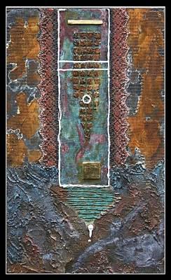 Rust-art 02 Art Print by Gertrude Scheffler