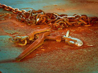 Photograph - Rust As  Art by Jean Noren