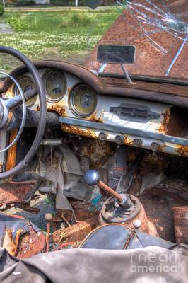 Photograph - Rust Bucket by Rick Kuperberg Sr