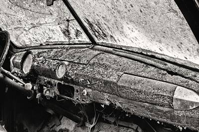 Photograph - Rust Bw by JC Findley