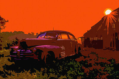 Rust In Peace 4 Art Print by Brian Stevens