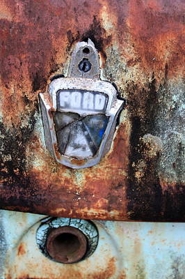 Ford Customline Photograph - Rust In Peace. by Ian  Ramsay