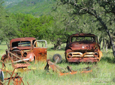 Rust In Peace No. 3 Art Print