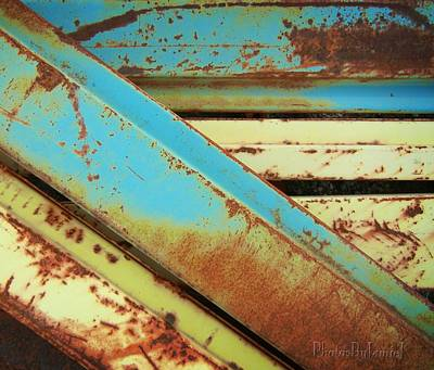 Photograph - Rust N Turquoise by Jamie Johnson