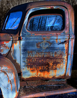 Rust Never Sleeps Art Print by Wayne King