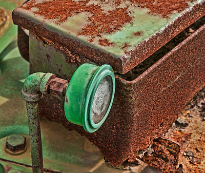 Photograph - Rust On Old Tractor by Gary Slawsky