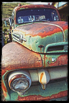 Rust Or Bust Art Print by Justin  Curry