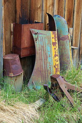 Photograph - Rust Patina by Tamyra Crossley