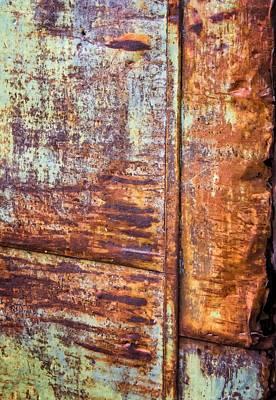 Rust Rules Art Print by Steve Harrington
