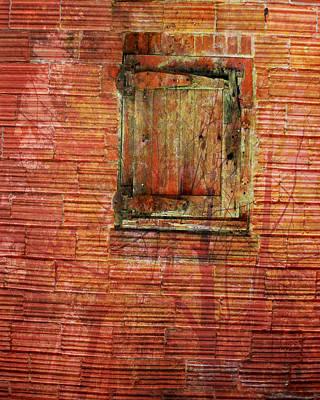 Rust Wall Art Print by Lyn  Perry