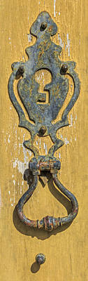 Photograph - Rusted Door Lock by David Letts