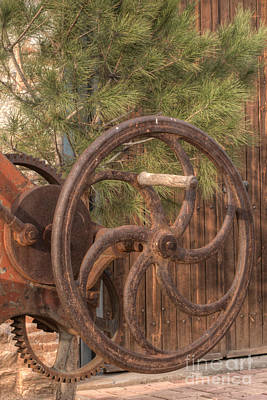 Photograph - Rusted Factory Machinery Larissa Greece 3 by Deborah Smolinske