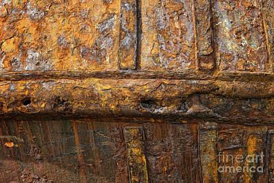 Rusted Fishing Boat Art Print by John Greim
