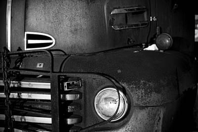 Rusted Ford Farm Truck Art Print by Amanda Devitt