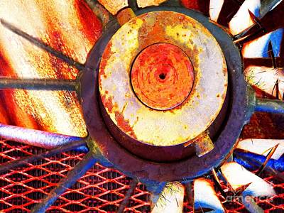 Photograph - Rusted Glory 3 by Desiree Paquette