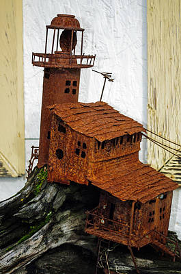 Photograph - Rusted Lighthouse by Tikvah's Hope