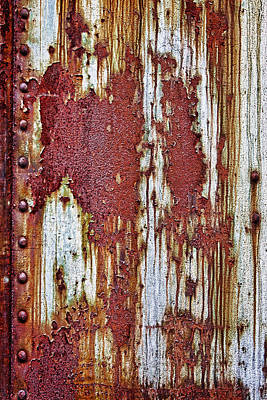 Door Photograph - Rusted by Marcia Colelli