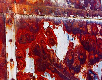 Rusted Metal Art Print by Craig Brown