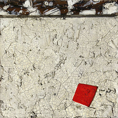 Mixed Media - Rusted Nails     Red Dot by Christopher Schranck