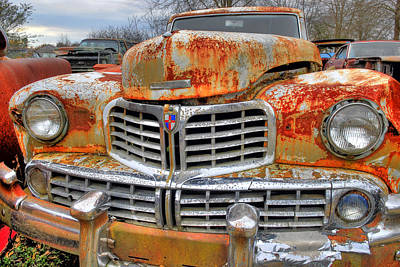 Photograph - Rusted Out Lincoln by Willie Harper