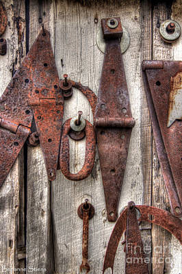 Rusted Past Art Print by Benanne Stiens