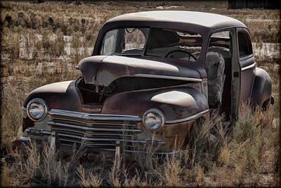 Photograph - Rusted Plymouth by Erika Fawcett