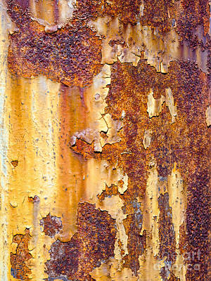 Photograph - Rusted Pole by Steven Ralser