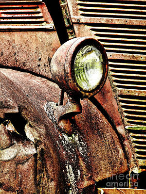 Art Print featuring the photograph Rusted by Ron Roberts
