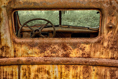 Photograph - Rusted  by Sara Hudock