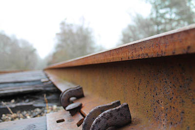 Photograph - Rusted Track by Jessica Brown