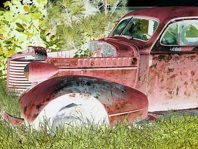 Rusted Truck 4 Print by Dietrich ralph  Katz