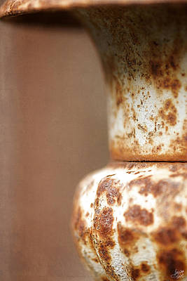 Photograph - Rusted Urn by Lisa Knechtel