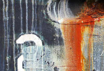 Rusted Waterfall Print by Jani Freimann