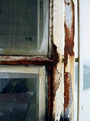 Photograph - Rusted Window by Patricia Strand