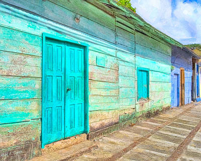 Photograph - Rustic And Colorful Nicaragua by Mark E Tisdale