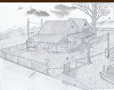 Old Barn Drawings Page 3 Of 5
