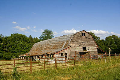 Photograph - Rustic Barn by Robert Camp