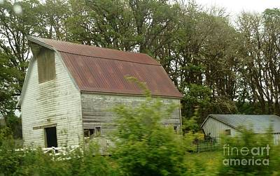 Photograph - Rustic Barn by Susan Garren