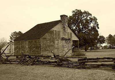 Photograph - Rustic Building by Ellen Barron O'Reilly