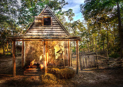 Photograph - Rustic Cabin by Mark Andrew Thomas