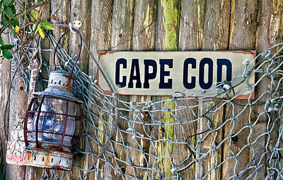 Oil Lamp Photograph - Rustic Cape Cod by Bill Wakeley