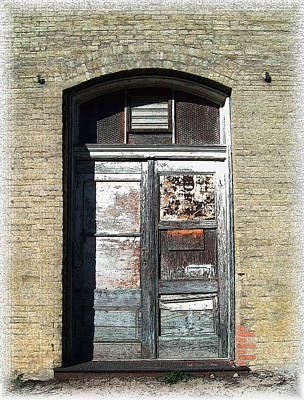 Photograph - Rustic Door 2 by Kate Word