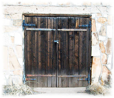Photograph - Rustic Door 3 by Kate Word