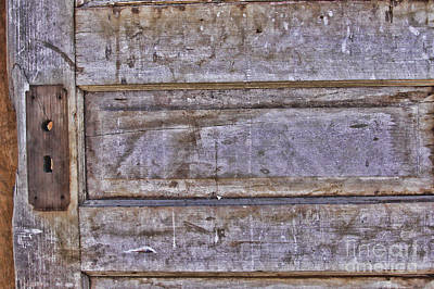 Photograph - Rustic Door by Audreen Gieger