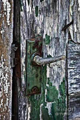 Photograph - Rustic Door Handle by Ms Judi