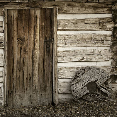 Photograph - Rustic Door by Sonya Lang